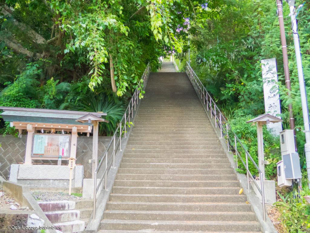 大神山神社(階段)へようこそ!
