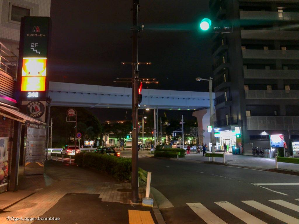 竹芝客船ターミナル前交差点