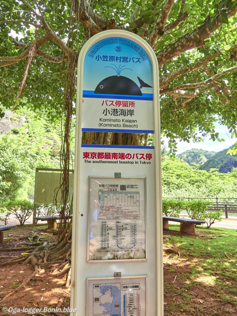 最南端のバス停3
